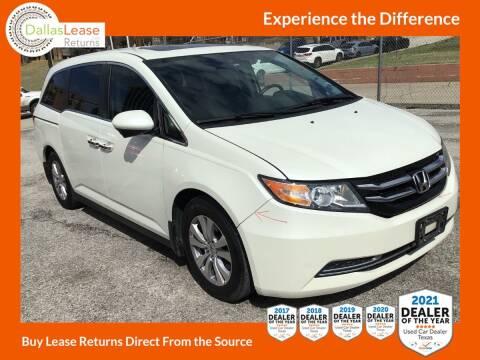 2016 Honda Odyssey for sale at Dallas Auto Finance in Dallas TX