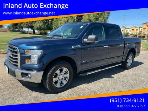 2015 Ford F-150 for sale at Inland Auto Exchange in Norco CA