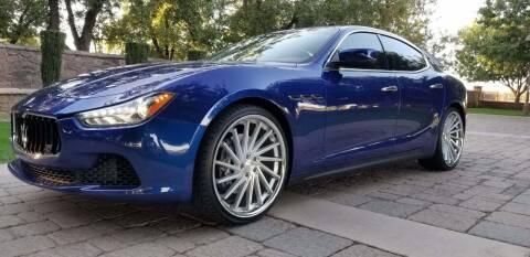 2015 Maserati Ghibli for sale at Arizona Auto Resource in Tempe AZ