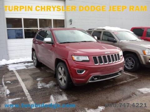 2015 Jeep Grand Cherokee for sale at Turpin Dodge Chrysler Jeep Ram in Dubuque IA