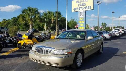 2005 Lincoln Town Car for sale at IMAGINE CARS and MOTORCYCLES in Orlando FL