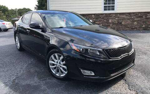 2014 Kia Optima for sale at No Full Coverage Auto Sales in Austell GA