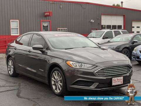 2017 Ford Fusion Hybrid for sale at Bob Walters Linton Motors in Linton IN