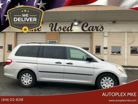 2006 Honda Odyssey for sale at Autoplex MKE in Milwaukee WI