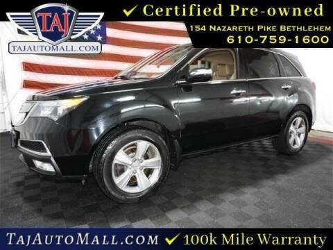 2012 Acura MDX for sale at STAR AUTO MALL 512 in Bethlehem PA