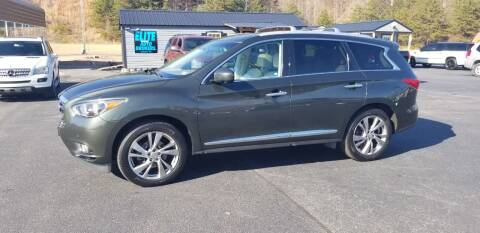 2013 Infiniti JX35 for sale at Elite Auto Brokers in Lenoir NC