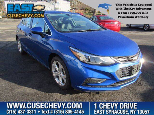 2017 Chevrolet Cruze for sale at East Syracuse Performance Sales & Service in Syracuse NY