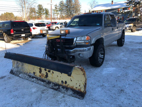2005 GMC Sierra 2500HD for sale at Winner's Circle Auto Sales in Tilton NH
