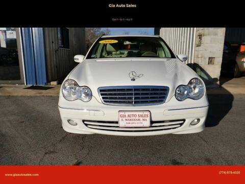 2007 Mercedes-Benz C-Class for sale at Gia Auto Sales in East Wareham MA