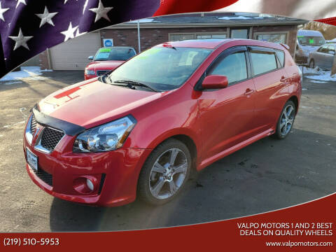 2009 Pontiac Vibe for sale at Valpo Motors 1 and 2  Best Deals On Quality Wheels in Valparaiso IN