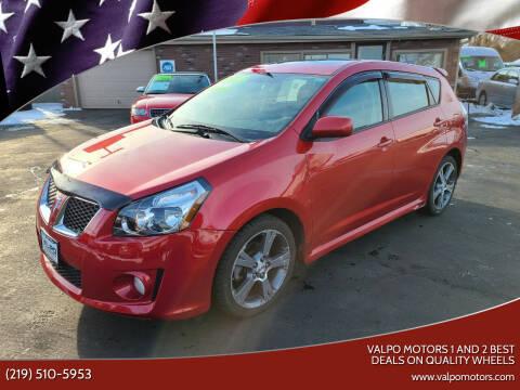 2009 Pontiac Vibe for sale at Valpo Motors Inc. in Valparaiso IN