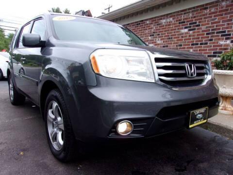 2013 Honda Pilot for sale at Certified Motorcars LLC in Franklin NH