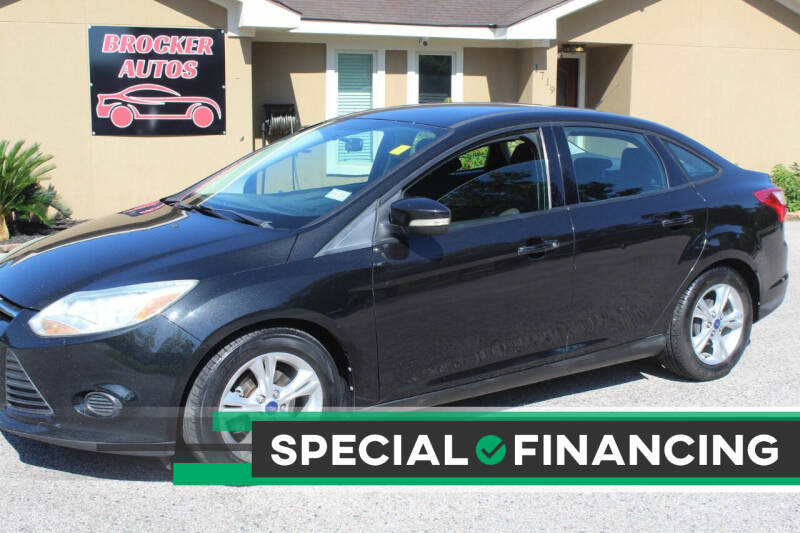 2014 Ford Focus for sale at Brocker Autos in Humble TX