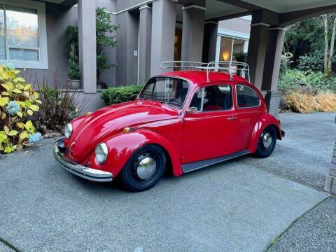1968 Volkswagen Beetle for sale at Drager's International Classic Sales in Burlington WA