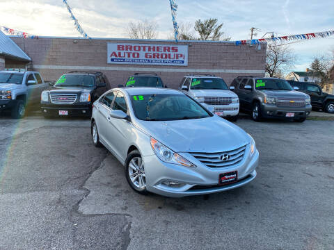 2013 Hyundai Sonata for sale at Brothers Auto Group in Youngstown OH