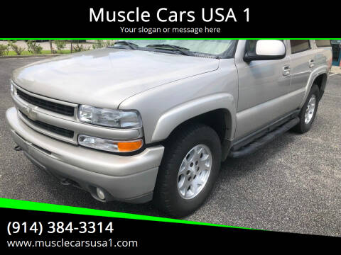 2006 Chevrolet Tahoe for sale at Muscle Cars USA 1 in Murrells Inlet SC