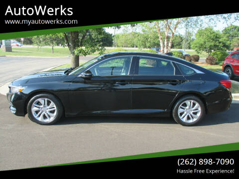 2019 Honda Accord for sale at AutoWerks in Sturtevant WI