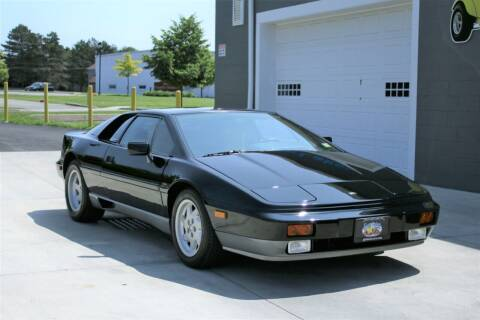 1988 Lotus Esprit Turbo for sale at Great Lakes Classic Cars & Detail Shop in Hilton NY