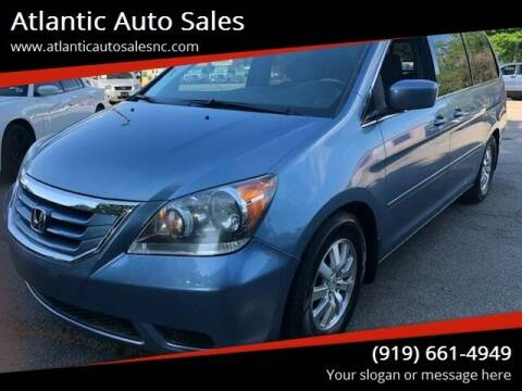 2010 Honda Odyssey for sale at Atlantic Auto Sales in Garner NC