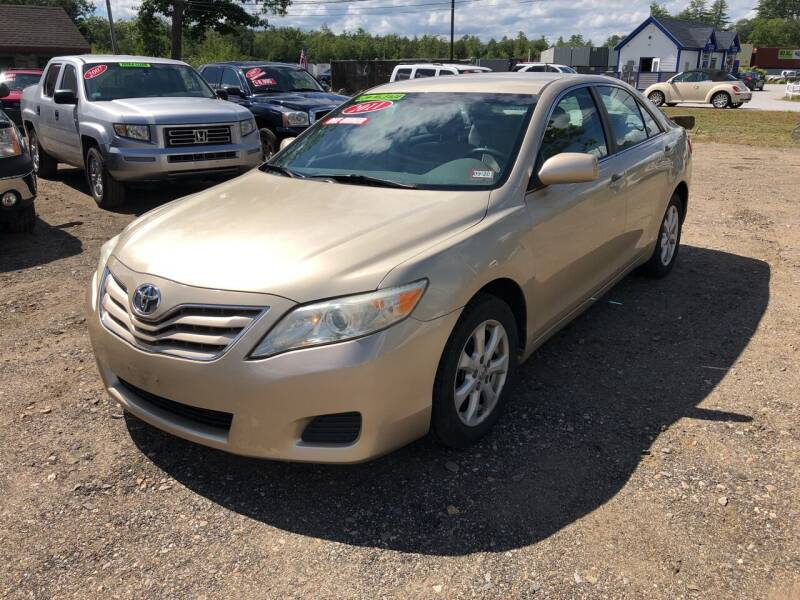 2011 Toyota Camry for sale at Winner's Circle Auto Sales in Tilton NH
