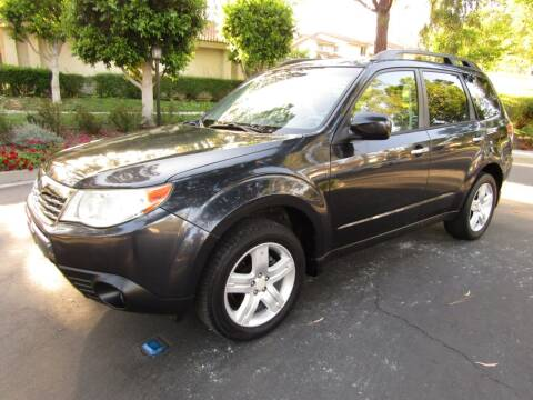 2009 Subaru Forester for sale at E MOTORCARS in Fullerton CA