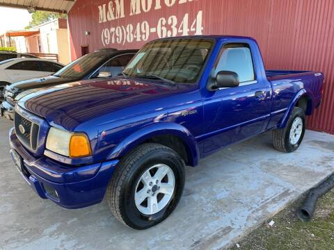 2005 Ford Ranger for sale at M & M Motors in Angleton TX