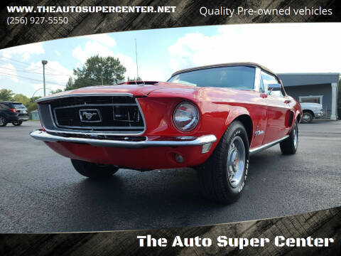 1968 Ford Mustang for sale at The Auto Super Center in Centre AL