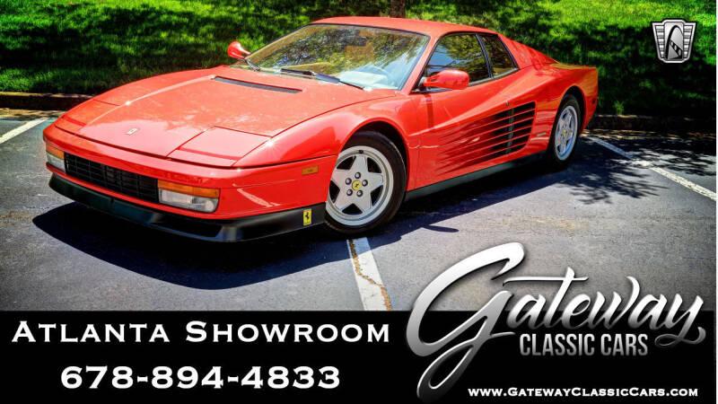 Used Ferrari Testarossa For Sale In Atlanta Ga Carsforsale Com