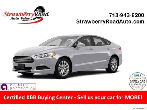 2015 Ford Fusion for sale at Strawberry Road Auto Sales in Pasadena TX