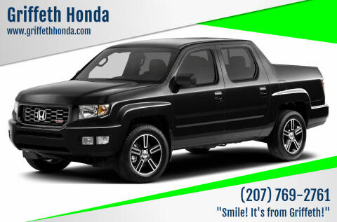 2014 Honda Ridgeline for sale at Griffeth Honda in Presque Isle ME