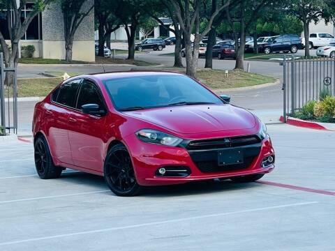 2015 Dodge Dart for sale at Texas Drive Auto in Dallas TX