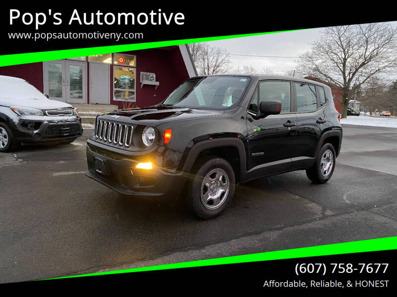 2017 Jeep Renegade for sale at Pop's Automotive in Homer NY