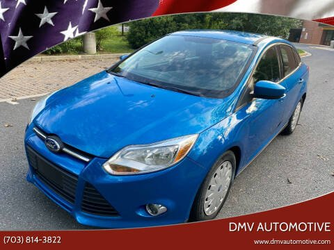 2012 Ford Focus for sale at DMV Automotive in Falls Church VA