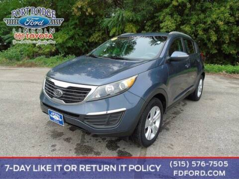 2012 Kia Sportage for sale at Fort Dodge Ford Lincoln Toyota in Fort Dodge IA