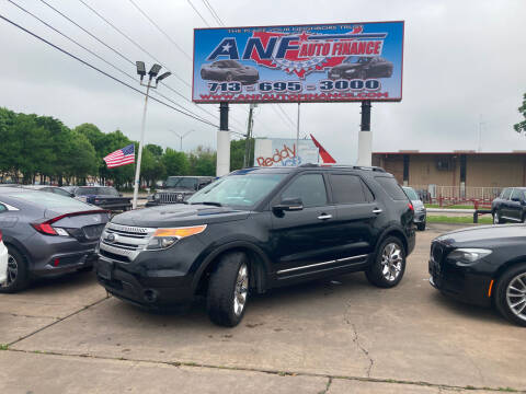 2014 Ford Explorer for sale at ANF AUTO FINANCE in Houston TX