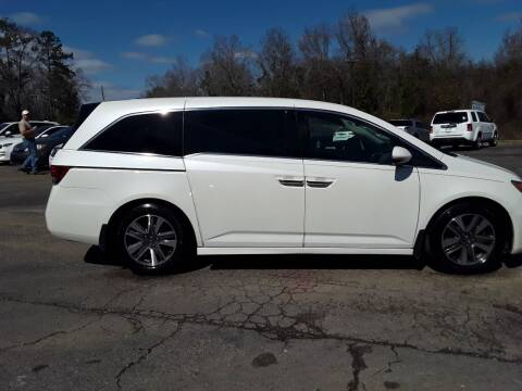 2014 Honda Odyssey for sale at WALKER MOTORS LLC in Hattiesburg MS