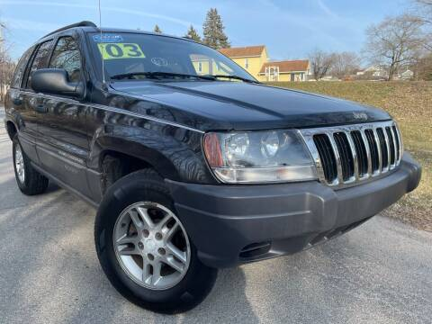 2003 Jeep Grand Cherokee for sale at Trocci's Auto Sales in West Pittsburg PA