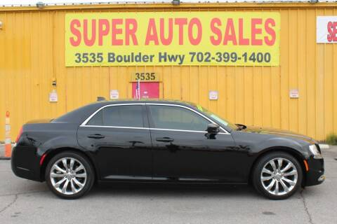 2017 Chrysler 300 for sale at Super Auto Sales in Las Vegas NV