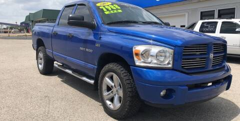 2007 Dodge Ram Pickup 1500 for sale at Perrys Certified Auto Exchange in Washington IN