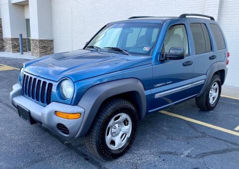 2003 Jeep Liberty for sale at Carland Auto Sales INC. in Portsmouth VA