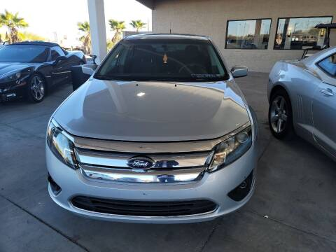 2010 Ford Fusion for sale at Carzz Motor Sports in Fountain Hills AZ
