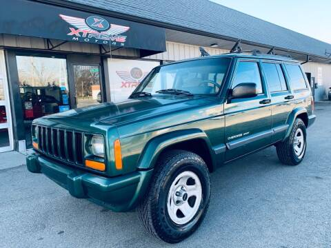 2000 Jeep Cherokee for sale at Xtreme Motors Inc. in Indianapolis IN