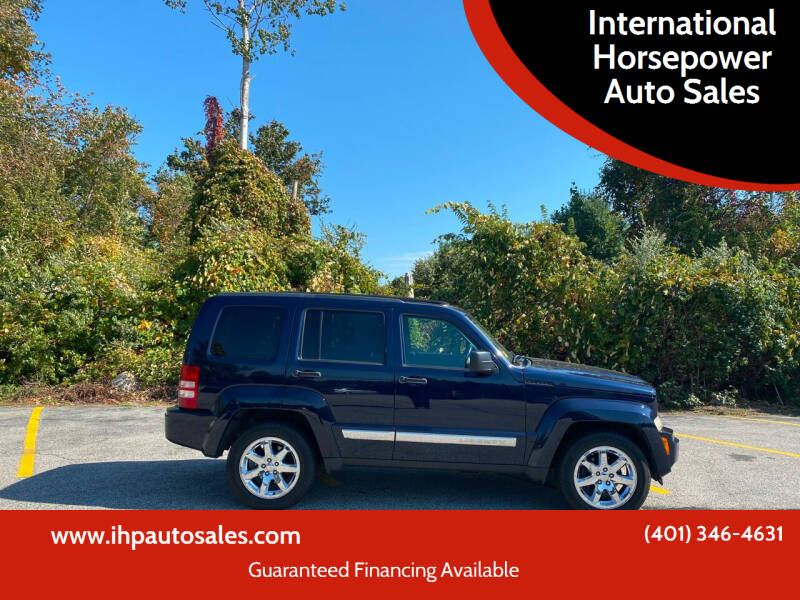 2012 Jeep Liberty for sale at International Horsepower Auto Sales in Warwick RI