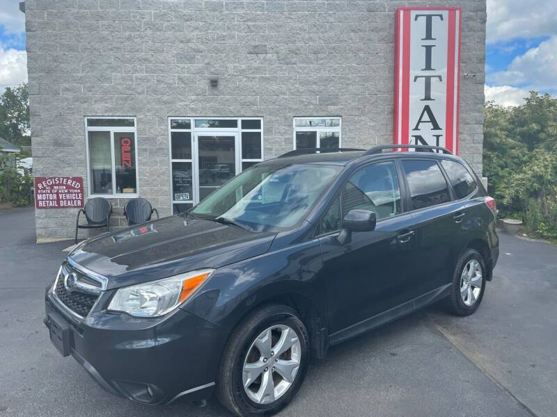 2014 Subaru Forester for sale at Titan Auto Sales LLC in Albany NY