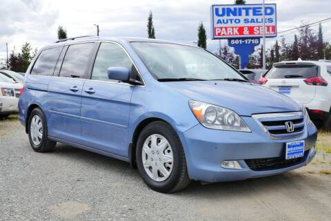 2007 Honda Odyssey for sale at United Auto Sales in Anchorage AK