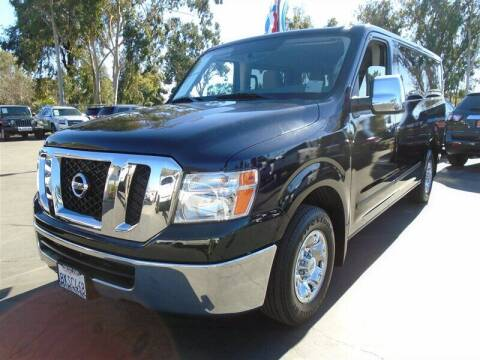 2018 Nissan NV Passenger for sale at Centre City Motors in Escondido CA