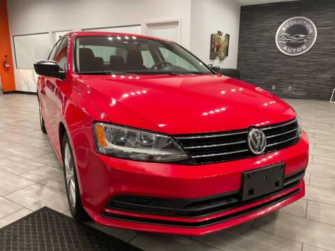 2015 Volkswagen Jetta for sale at Evolution Autos in Whiteland IN