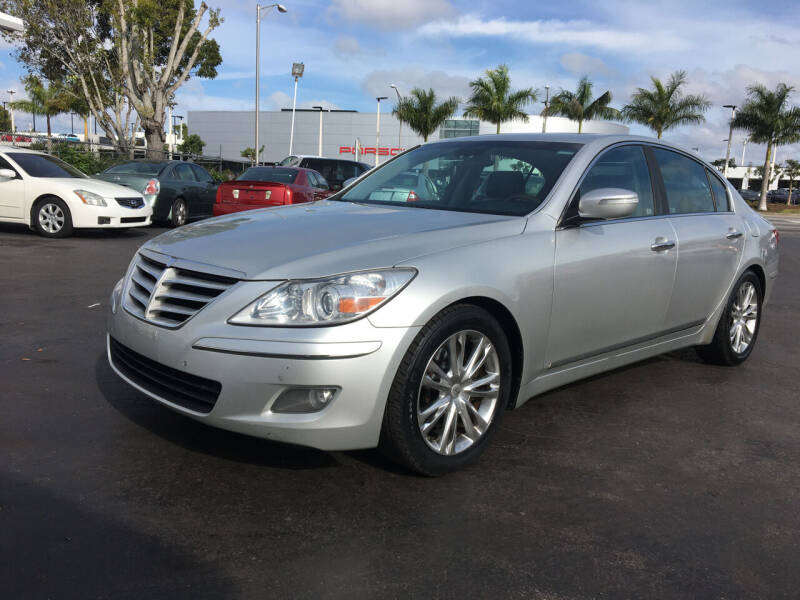 2009 Hyundai Genesis for sale at CAR-RIGHT AUTO SALES INC in Naples FL