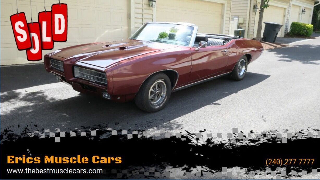 1969 Pontiac GTO Convertible SOLD SOLD SOLD