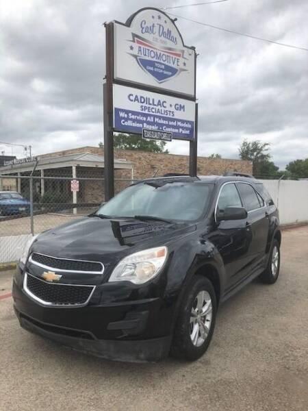 2013 Chevrolet Equinox for sale at East Dallas Automotive in Dallas TX
